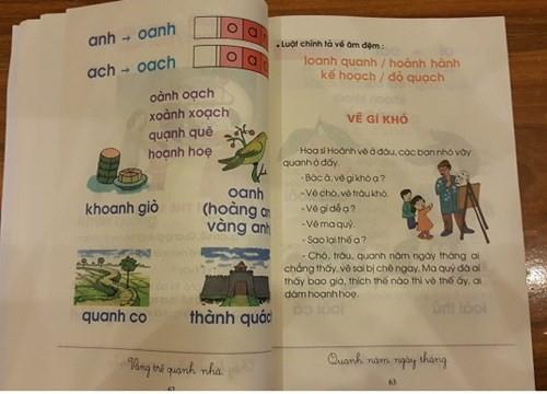 sách giáo khoa mới