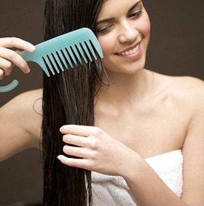 Chảy tóc bằng lược