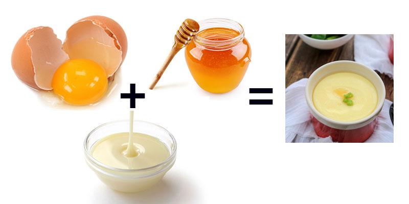 công thức món ăn từ mật ong